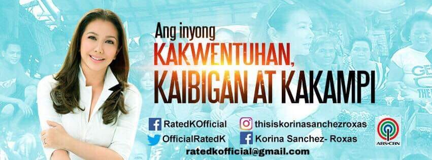 Korina goes digital at the Rated K Facebook page