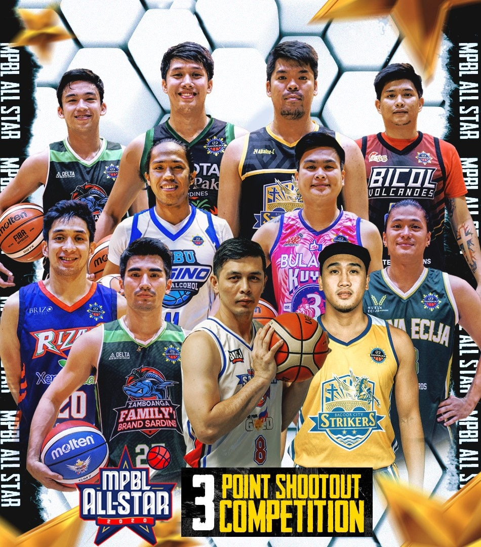 MPBL All Star 2020 3 Point Shootout Competition