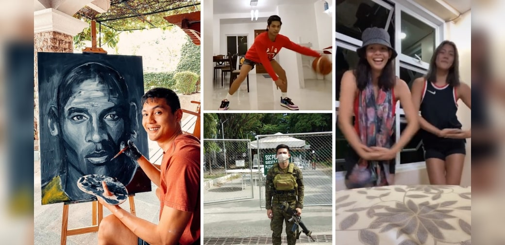 """Time out: How Pinoy athletes are still """"winning"""" during lockdown"""