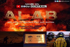 """Alab"" docu bares Pinoy firefighters' courage, camaraderie"