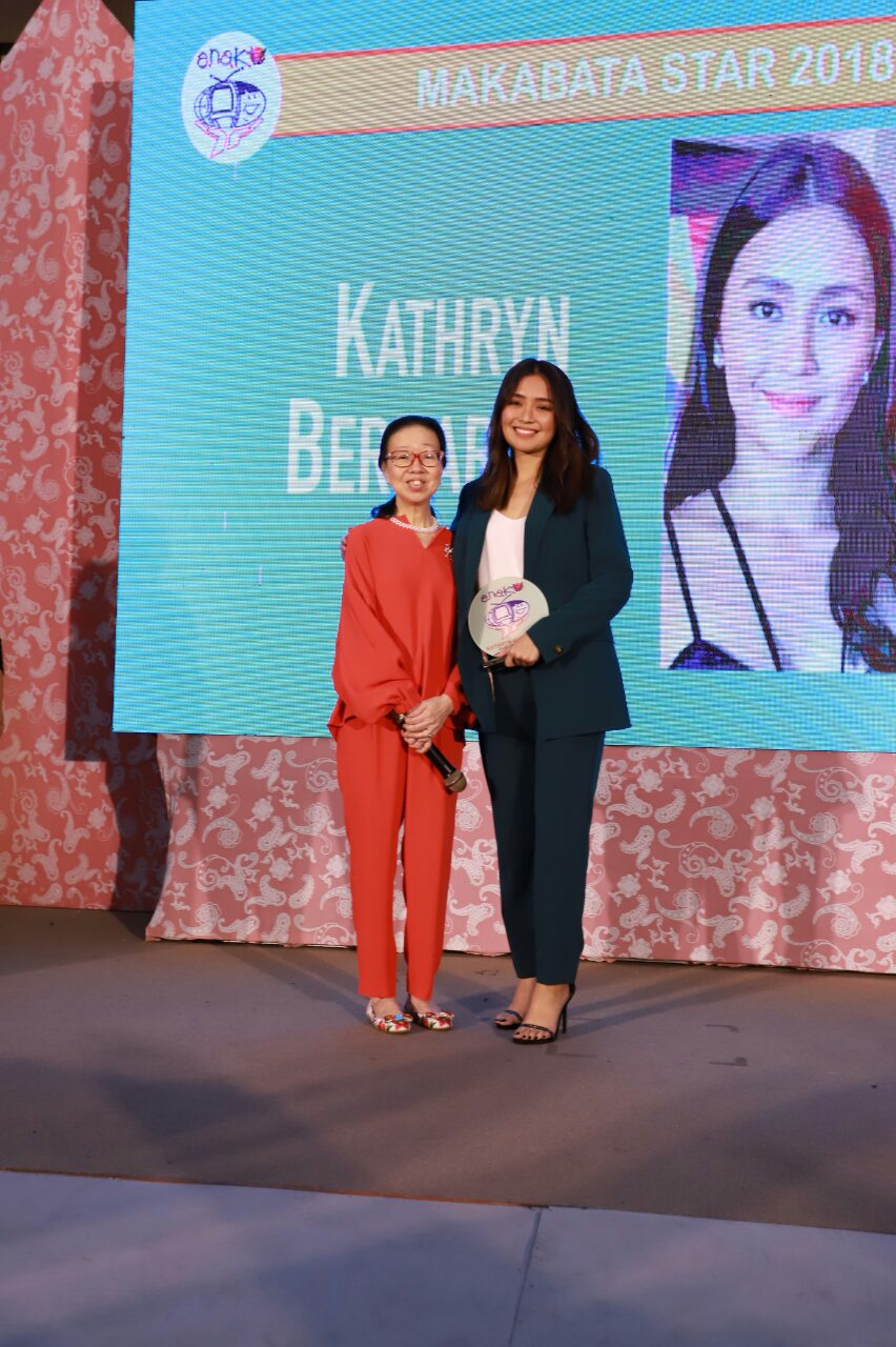 7_Kathryn Bernardo is one of the Makabata Star awardees this year