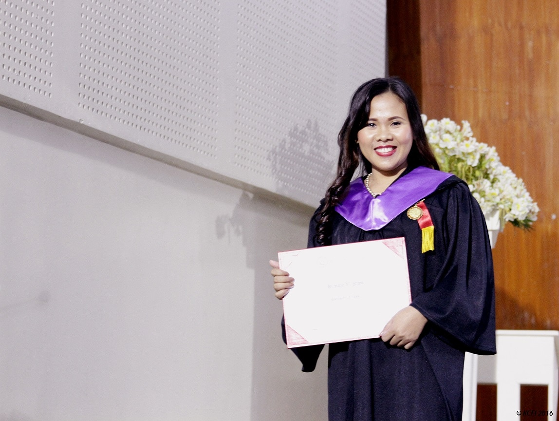 Hilmarie Nimo was able to continue her studies and reach her dreams with the help of Knowledge Channel and ABS CBN