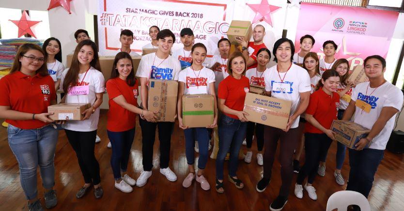 Kapamilya stars welcome kids to the Bantay Bata 163 Children's Village