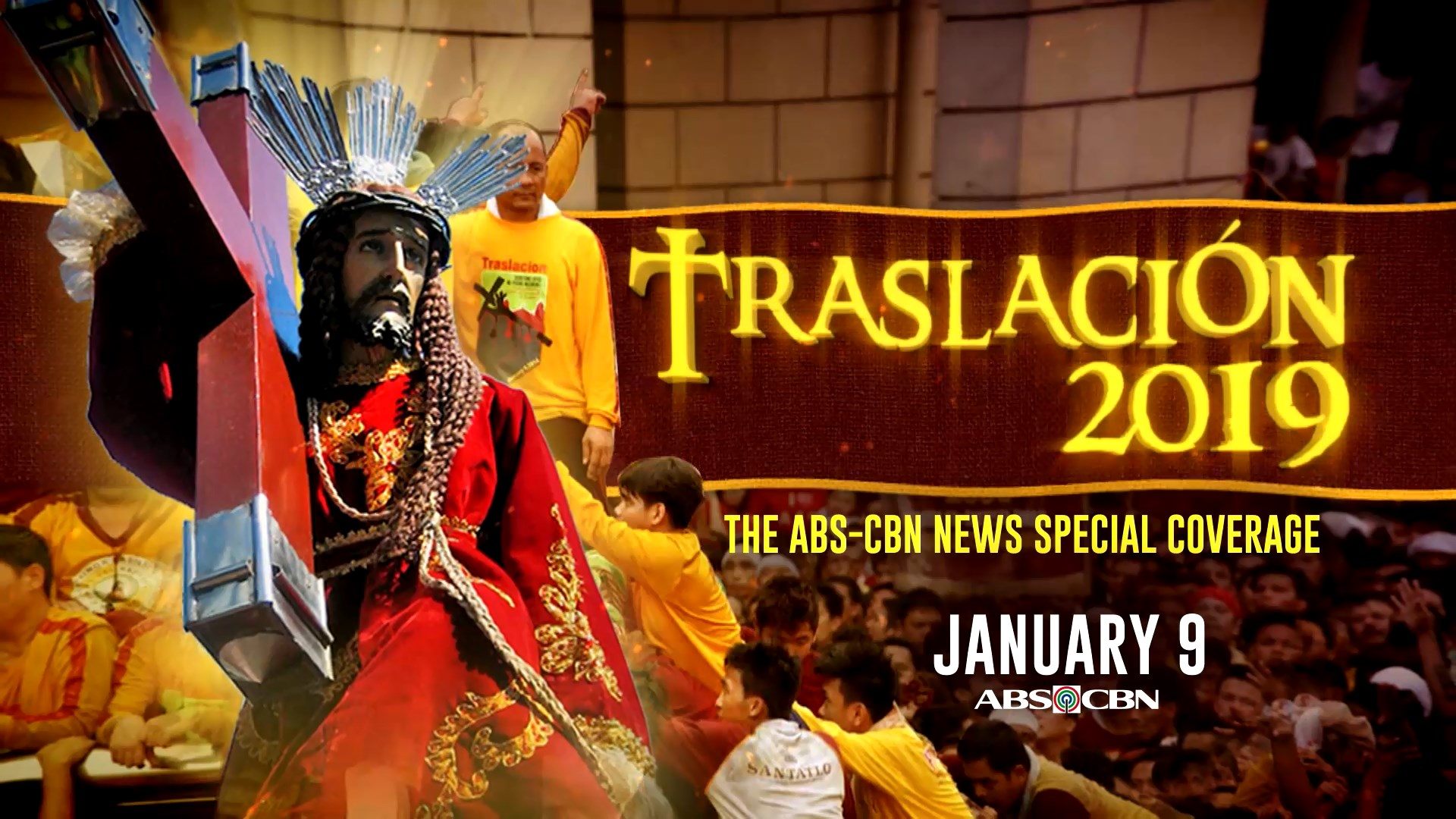 Catch the Trasclacion 2019 coverage of ABS CBN News on radio, TV, and online