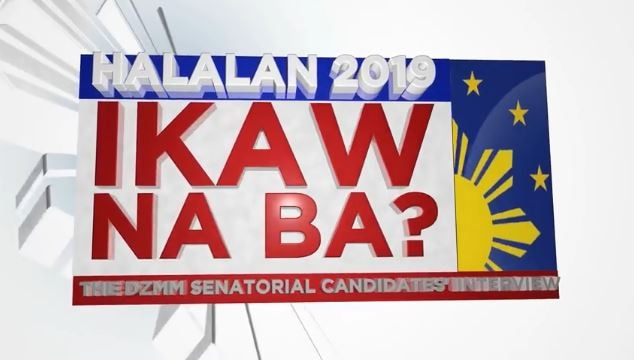 Ikaw Na Ba The DZMM Senatorial Candidates Interview