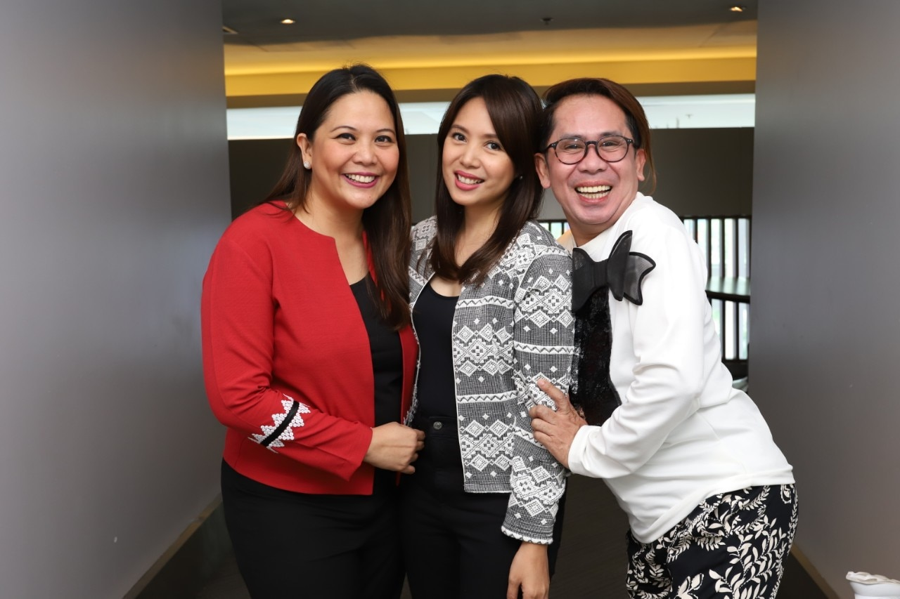 Dra  Luisa Ticzon Puyat, Nina Corpuz, and Ahwel Paz of Good Vibes_