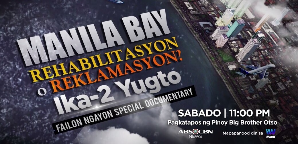 "Ted Failon digs deeper into Manila Bay issue in ""Failon Ngayon"" special docu"