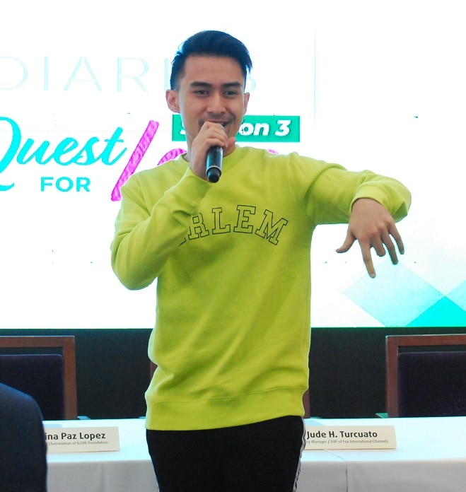 Young JV performs the theme of G Diaries