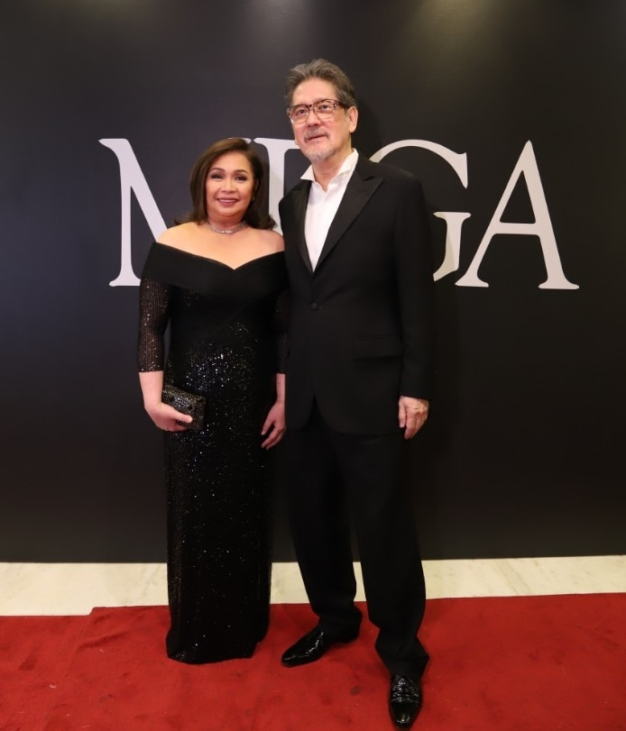 ABS CBN COO of  Broadcast Cory Vidanes and Star Magic head Johnny Manahan