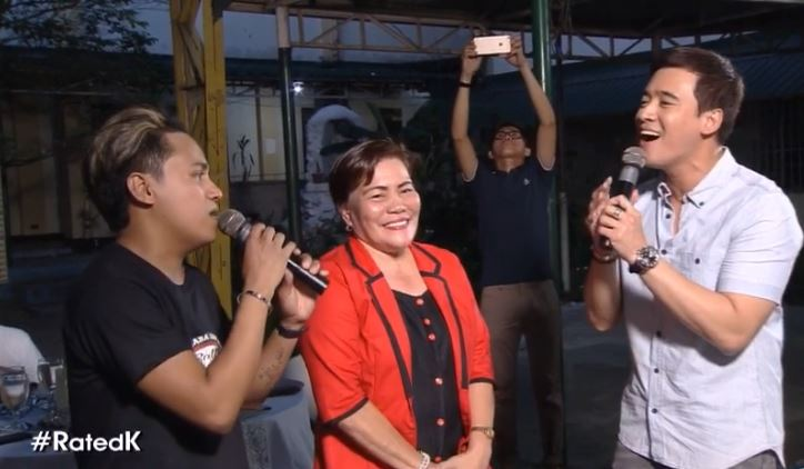 Rated K surprised teacher beth with a performance by Erik Santos