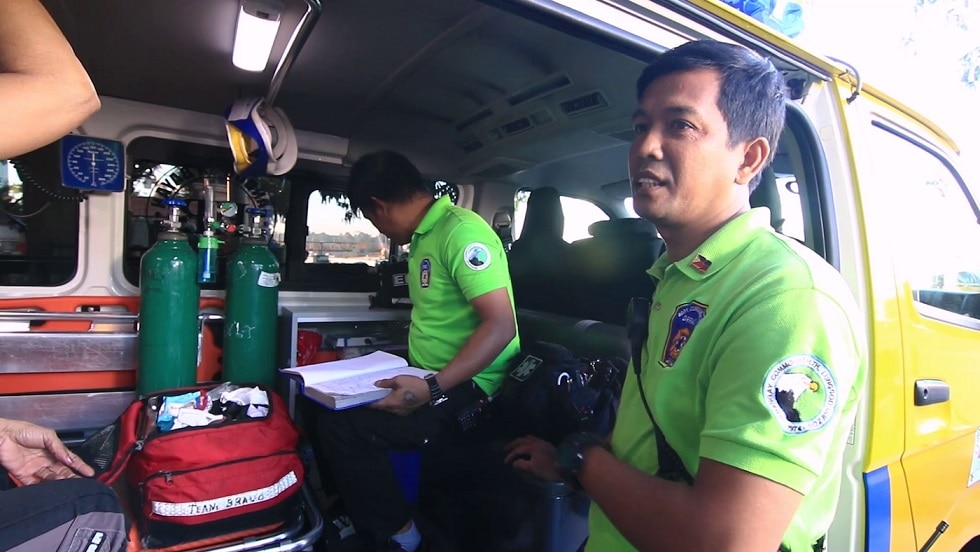 Arkie Castisimo has worked as an emergency responder for a decade