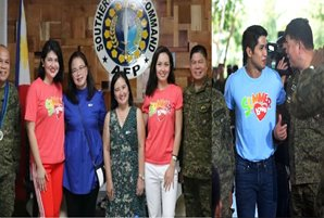 "ABS-CBN honors soldiers anew at ""Saludo"" event in Lucena"