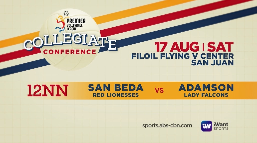 Every third game will be available on iWant and sports abs cbn com at 12nn