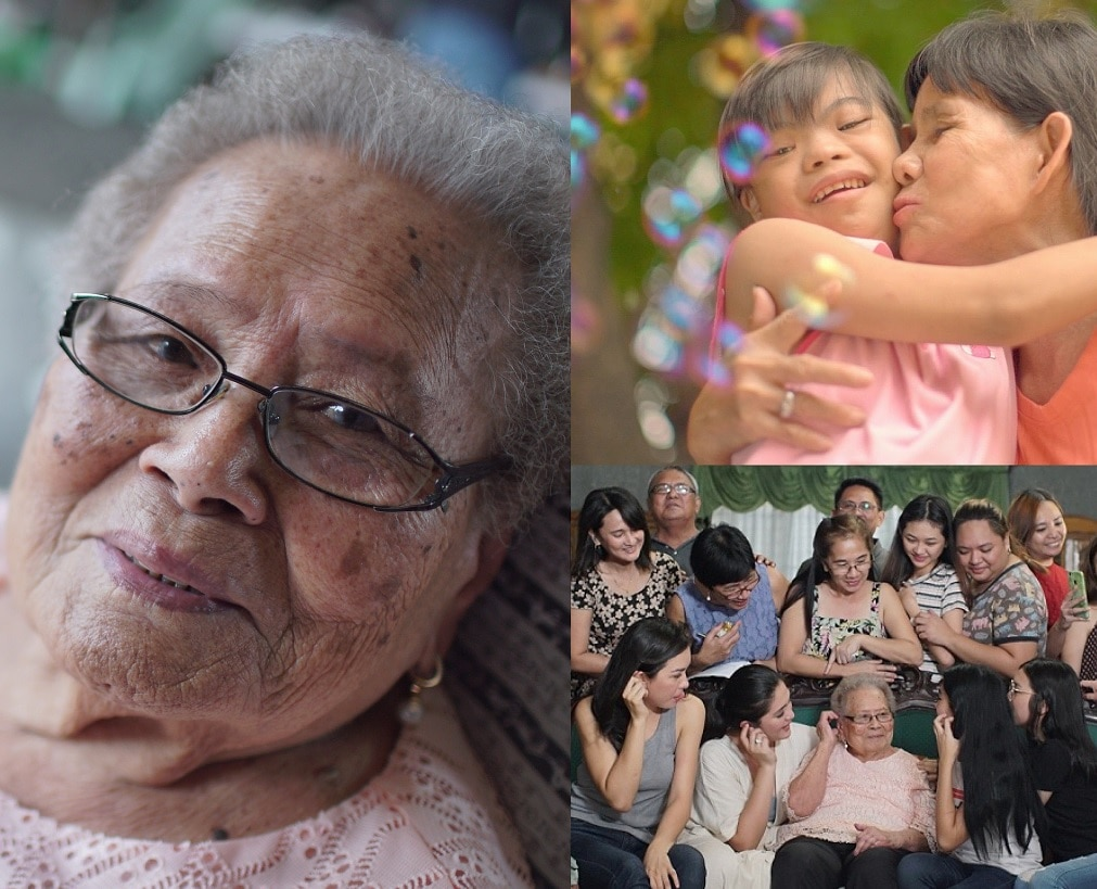 Centenarian Kapamilya fan gets a surprise visit from favorite stars