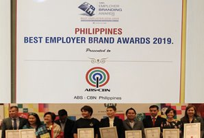 ABS-CBN recognized as Outstanding Employer at PH Employer Brand Awards