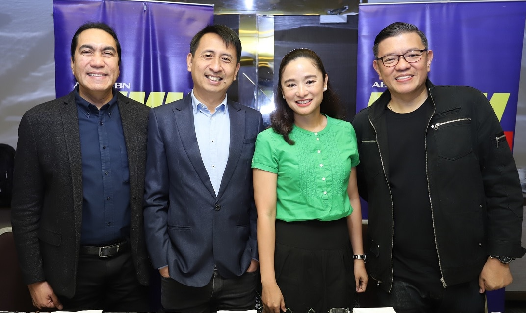 Bro  Alvin Barcelona, Bro  Bo Sanchez, Sr  Rissa Singson Kawpeng, and Bro  Randy Borromeo of the DZMM program Kape at Salita