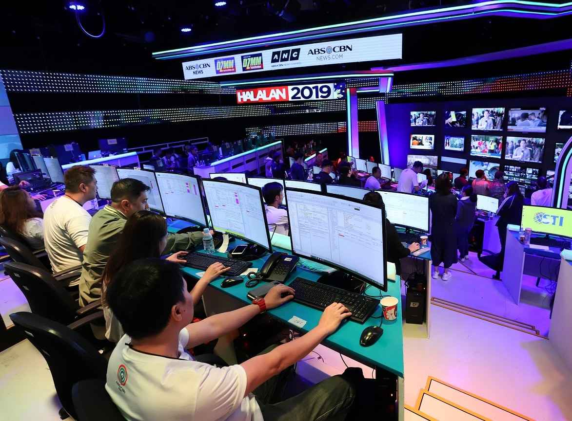 The ABS CBN News War Room