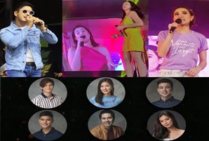 Dimples, Beauty, Cristine, and Coco celebrate with Kapamilyas in Kadayawan, Higalaay Festivals