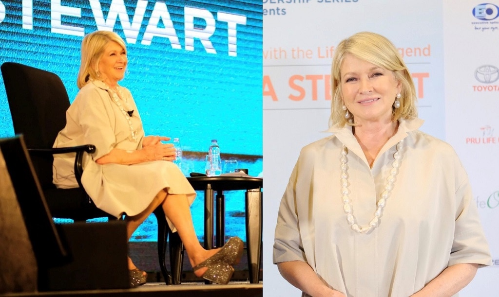 Keep content at your core and don't fear change, says lifestyle media mogul Martha Stewart