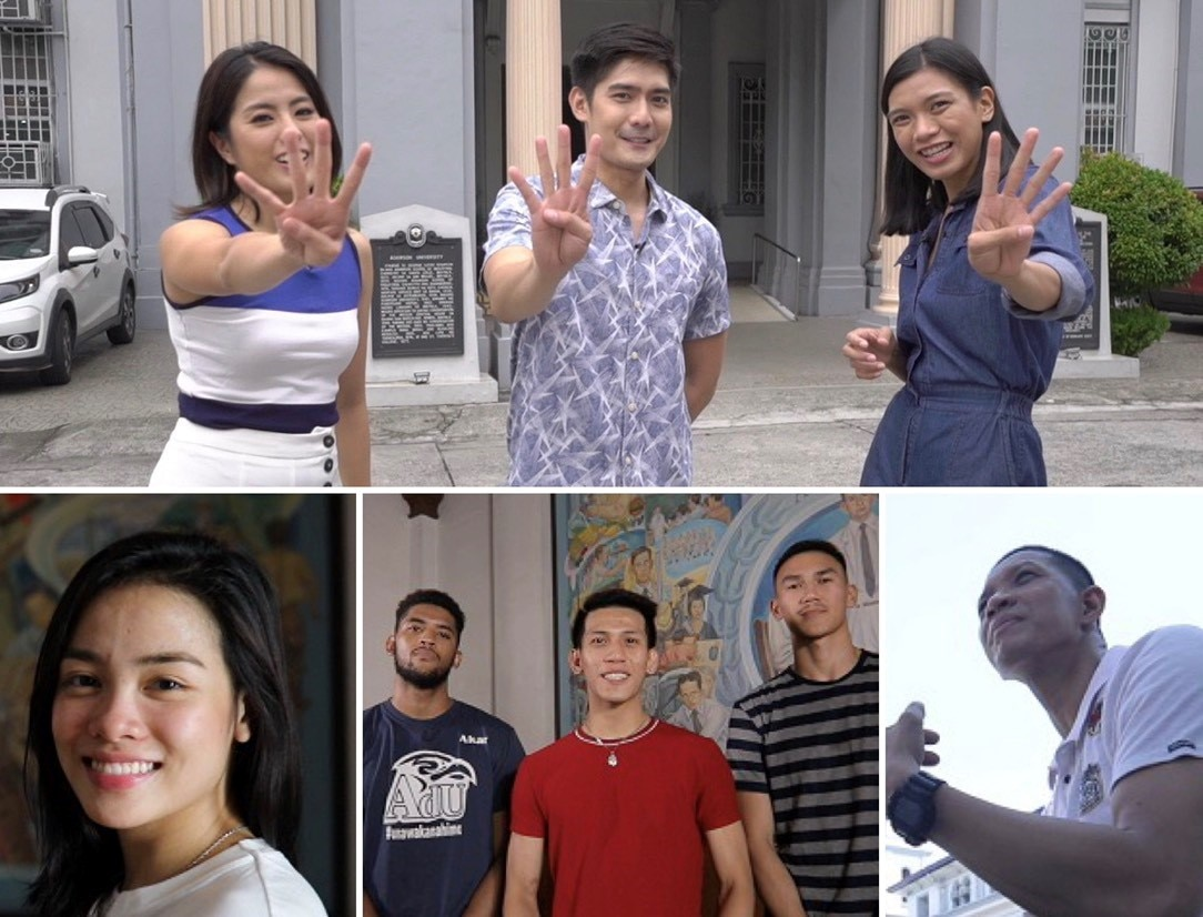 "Adamson legends join Robi, Gretchen, and Alyssa in ""University Town"""