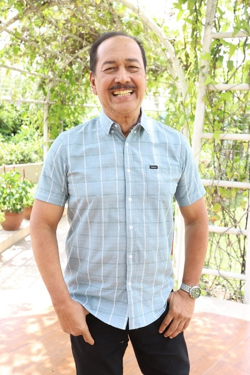 Veteran anchor and TV and film actor and writer Ariel Ureta