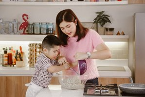 """Preparing healthy dishes in a fun and yummy way via """"Dimps' Kitchen"""""""