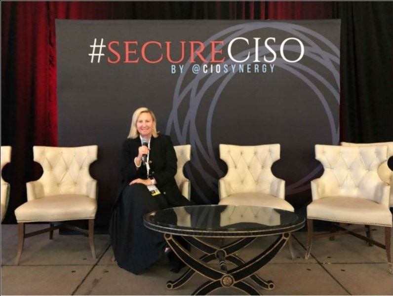 ABS-CBN Global Head of Anti-Piracy & Content Security Elisha Lawrence speaks at secureCISO San Francisco