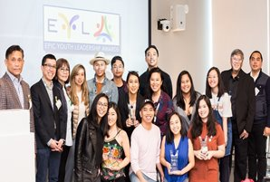 Youth serving youth are recognized  at the inaugural Epic Youth Leadership Awards