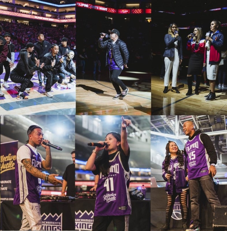 "myx, Kollective Hustle, TFC and Cache Creek Present Sold-out Sacramento Kings' ""Filipino Roots Night"""