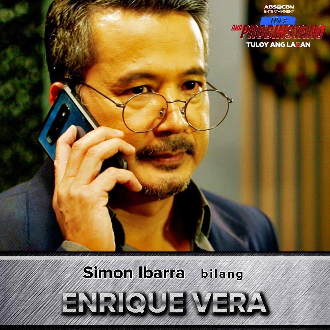 Simon Ibarra as Enrique Vera