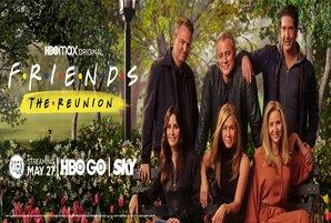 'Friends: The Reunion' streams on HBO GO via SKY on May 27