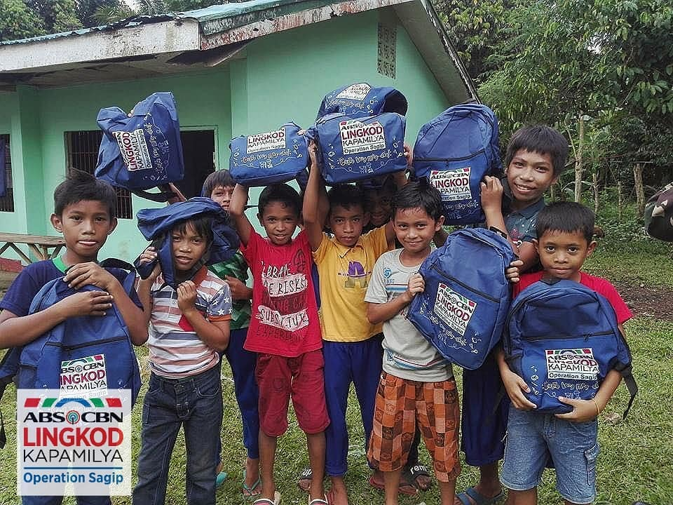 Photo courtesy of ALKFI School kids in Sulu will have more reasons to be excited about school as they receive new school supplies