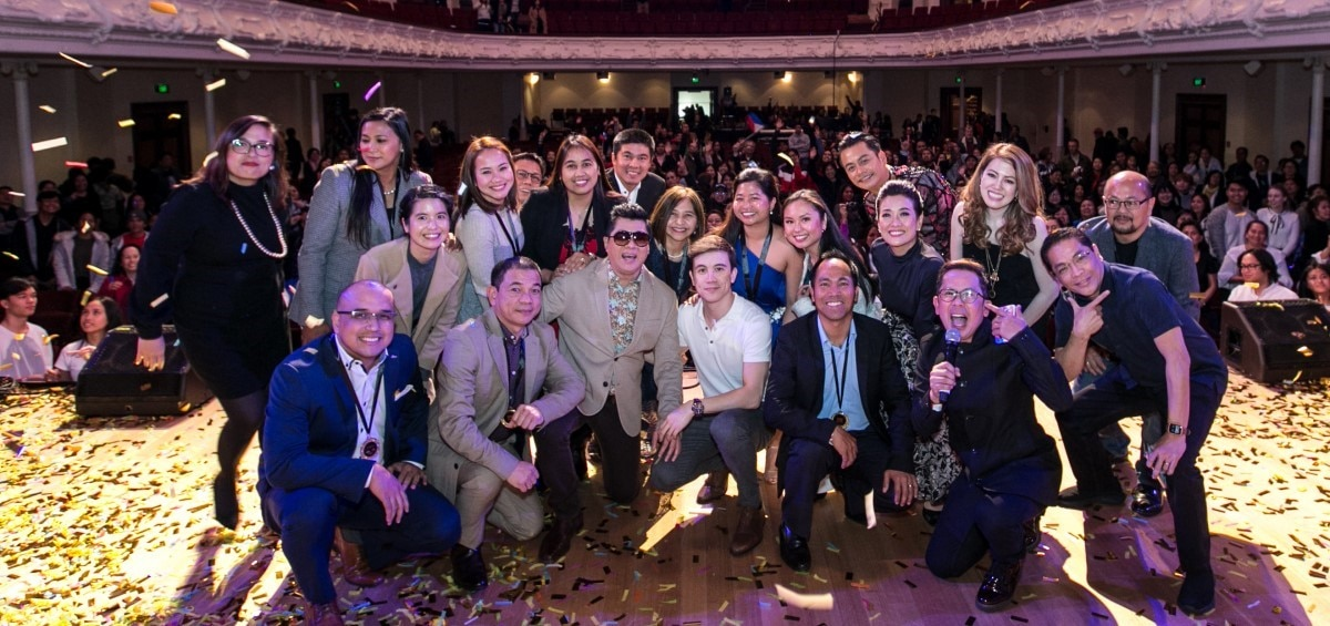 "Overseas Filipinos uplifting the Filipino Community in Asia Pacific honored at the ""Global Pinoy Idol New Zealand"""