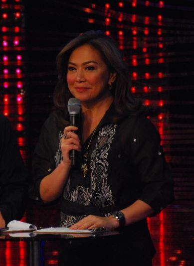 Anchor Karen Davila