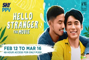 "SKY treats viewers this Valentine's with the premiere of ""Hello Stranger: The Movie"""