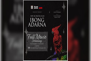 "Remastered Pinoy classic film ""Ibong Adarna,"" streams for free on November 1"