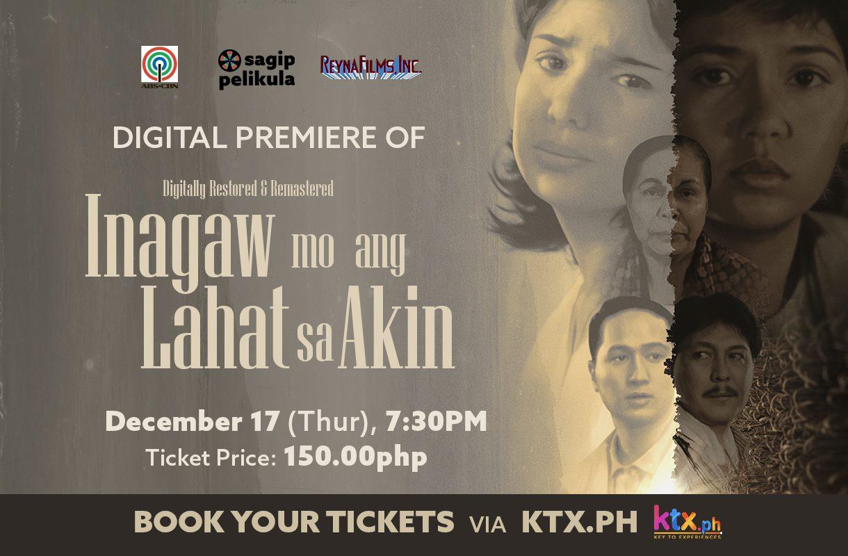 Digitally-restored 'Inagaw Mo ang Lahat sa Akin' premieres on KTX.ph
