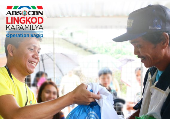 Kapamilyas receive aid from kababayans through ALKFI