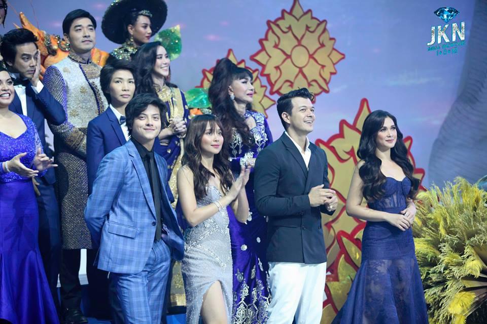 Jericho Rosales, Kathryn Bernardo, Daniel Padilla, and Maja Salvador Captivate Thailand