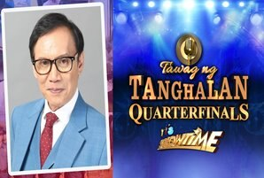 "Rey Valera returns to ""It's Showtime"" for first quarter finals this year"