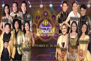 "12 singers troop to ""Tawag ng Tanghalan"" grand finals"