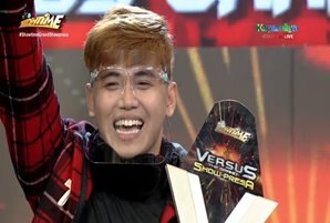 """Beatboxer crowned first-ever """"Versus"""" grand champion on """"It's Showtime"""""""