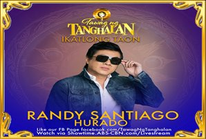"Randy Santiago returns to noontime as ""Tawag ng Tanghalan"" hurado"