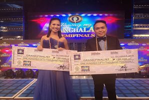 """Elaine and Ranillo to compete in """"Tawag ng Tanghalan"""" grand finals"""