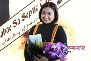 "Eugene Domingo parodies history in iWant's ""Ang Babae sa Septic Tank 3"" series"