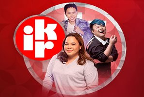 "iWant's resident showbiz experts deliver latest showbiz news in ""IKR (I Know Right?!)"""