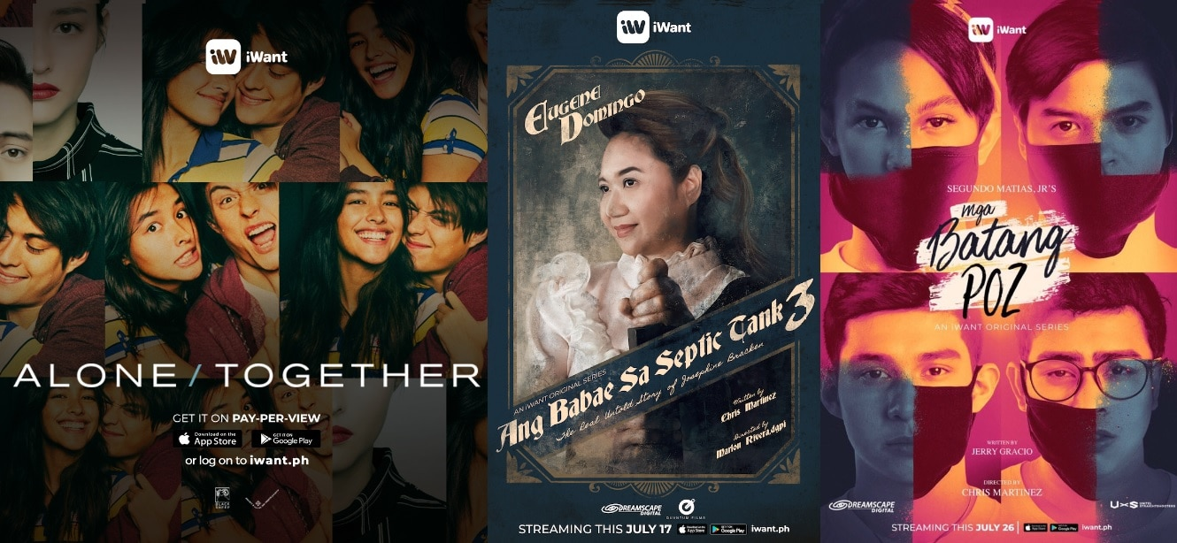 "Originals ""Septic Tank 3"" and ""Mga Batang Poz,"" LizQuen's ""Alone/Together"" arrive on iWant this July"