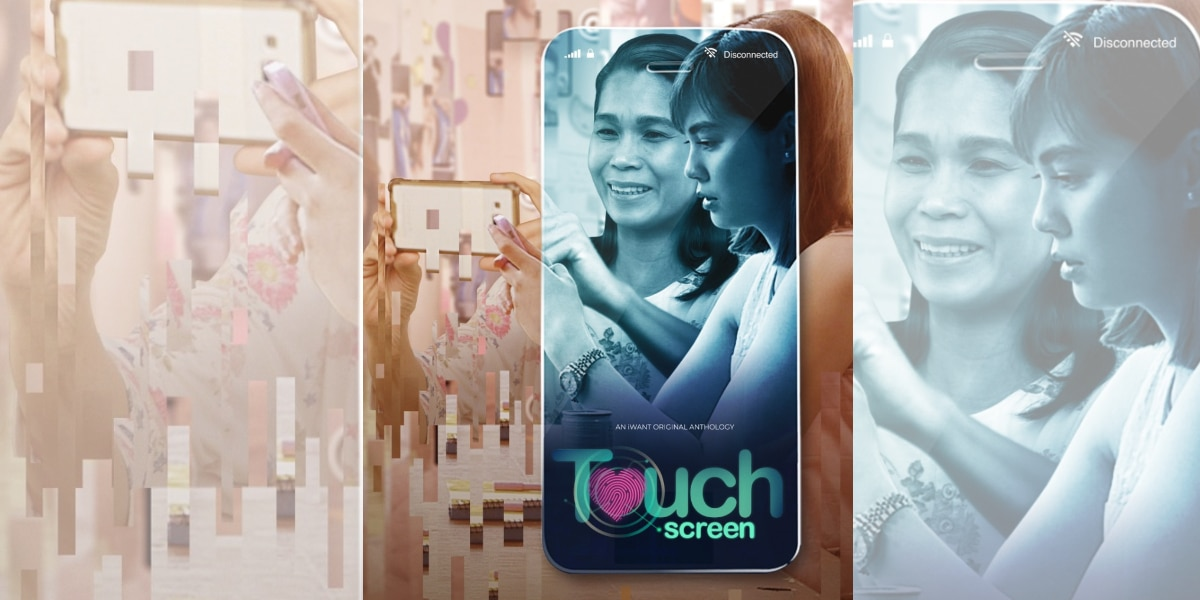 "Janella, Pokwang, Denise topbill new iWant original anthology ""Touch Screen"""