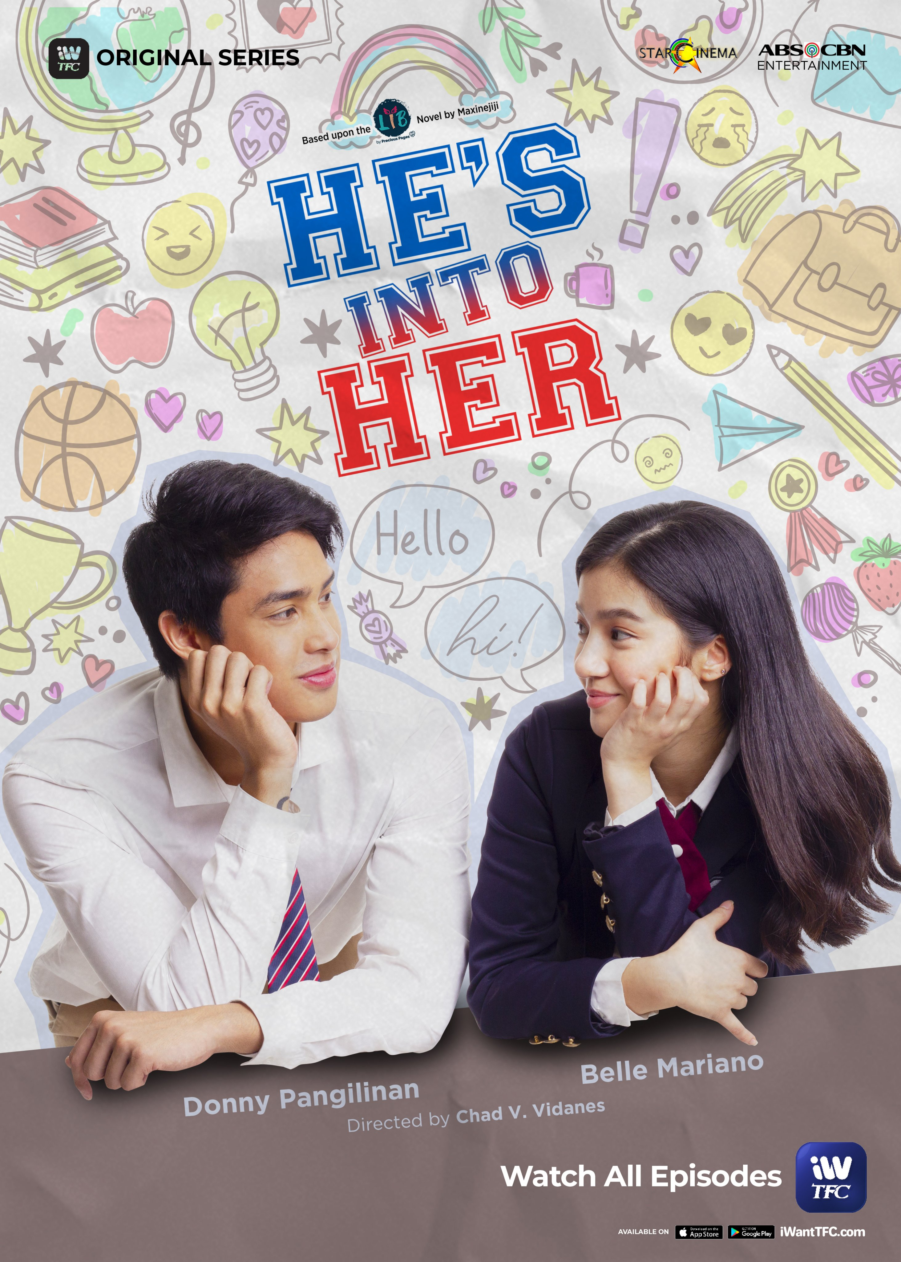 All episodes of He's Into Her are streaming for free in PH on iWantTFC (2)