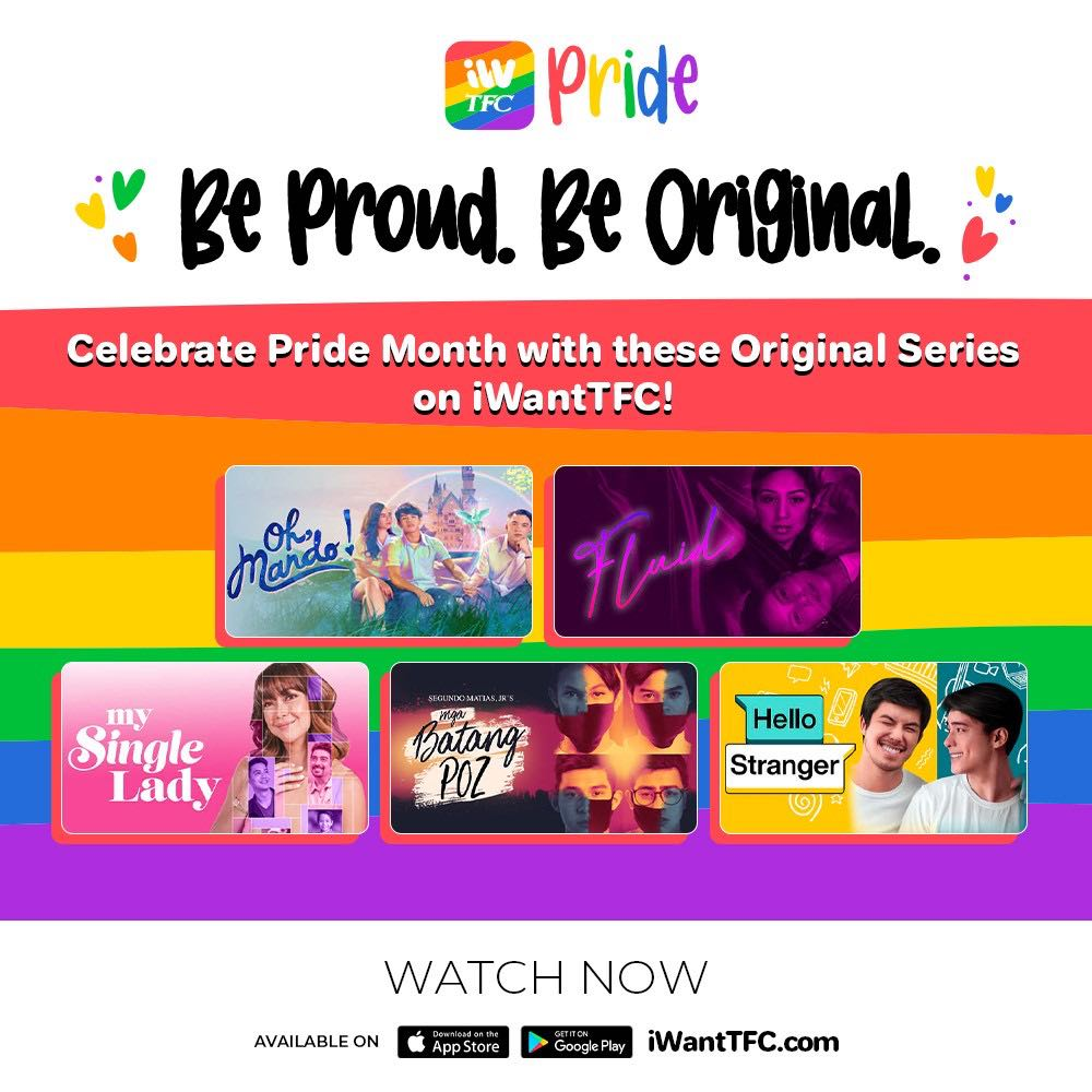 Celebrate Pride Month with these original series on iWantTFC